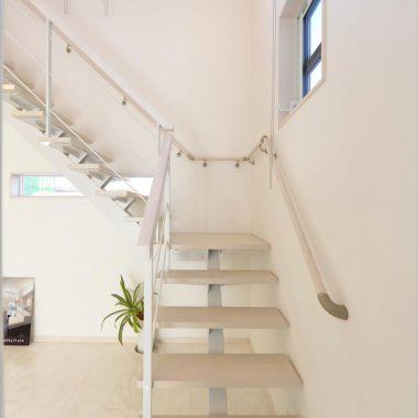 ストレート階段02